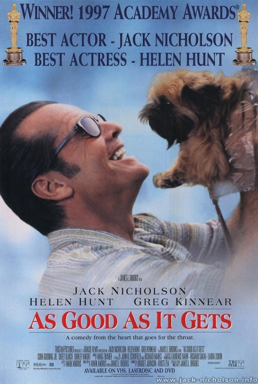 jack nicholson online movies as good as it gets as good as it gets 1997